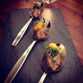 Taita's Yellowtail Spoons