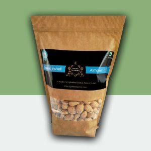 Golden Kashmir Premium Inshell Almonds | 900G (2Lbs)