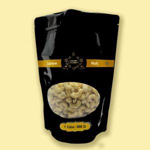 Golden Kashmir Premium Cashew Nuts | 500 G(1.1Lbs)