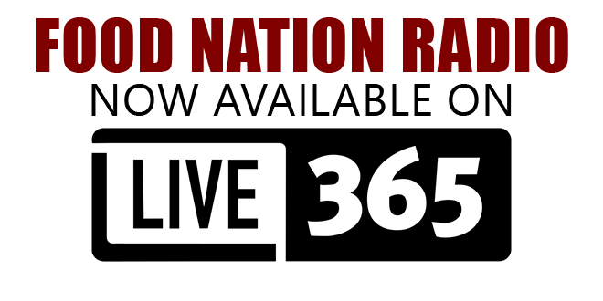 FOOD NATION RADIO – NOW ON LIVE 365