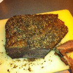 Homemade Pastrami aka THE BEAST!