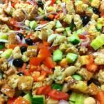 Picnic Panzanella {Recipe – Panzanella Salad}