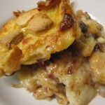 White Choc Croissant Bread and Butter Pudding Recipe