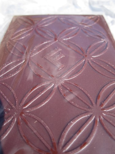 Fruition Dark Milk Chocolate With Fleur De Sel unwrapped - www.foodnerd4life.com