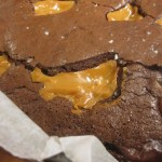 Dulce de Leche and Sea Salt Brownies