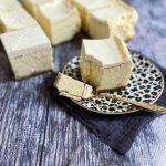 Slice of Baked New York Cheese Recipe - www.foodnerd4life.com
