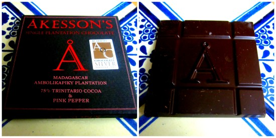 Akesson's Madagascar Ambolikapiky Plantation 75% With Pink Pepper - www.foodnerd4life.com