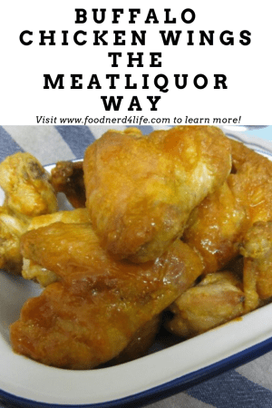 Buffalo Chicken Wings The MEATliquor Way Recipe Pin