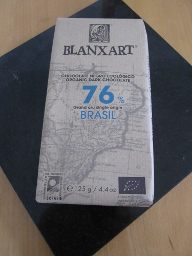 Blanxart 76% Brasil Bean to Bar Chocolate Bar - www.foodnerd4life.com