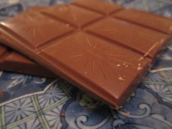 Original Beans Esmeraldas Milk 42% and Fleur de Sel Chocolate Bar Unwrapped - www.foodnerd4life.com