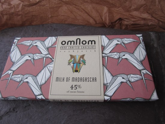 Omnom Madagascar 45% Chocolate Bar - www.foodnerd4life.com