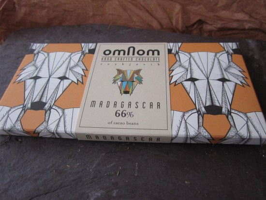 Omnom Madagascar 66% Chocolate Bar - www.foodnerd4life.com