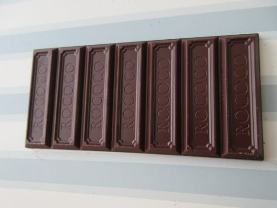 Rococo Dominican Republic 63% Unwrapped Chocolate Bar - www.foodnerd4life.com