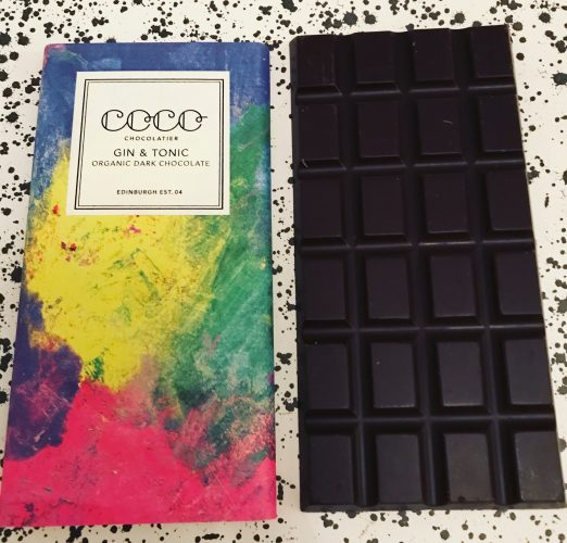 Coco Chocolatier Gin and Tonic Chocolate Bar - www.foodnerd4lif.com