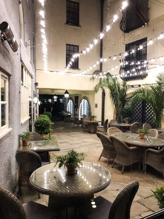 Courtyard at Hotel Du Vin, Bristol