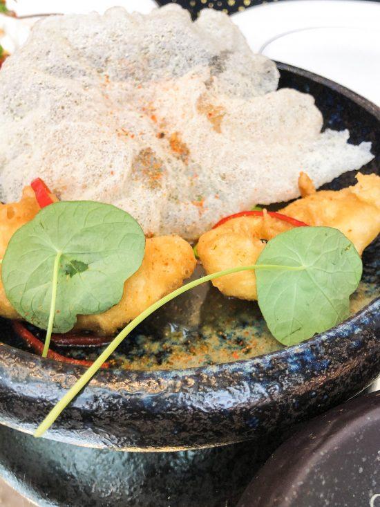 Fried Chicken Dumpling, Truffle and Citrus, Brasserie of Light, selfridges www.foodnerd4life.com