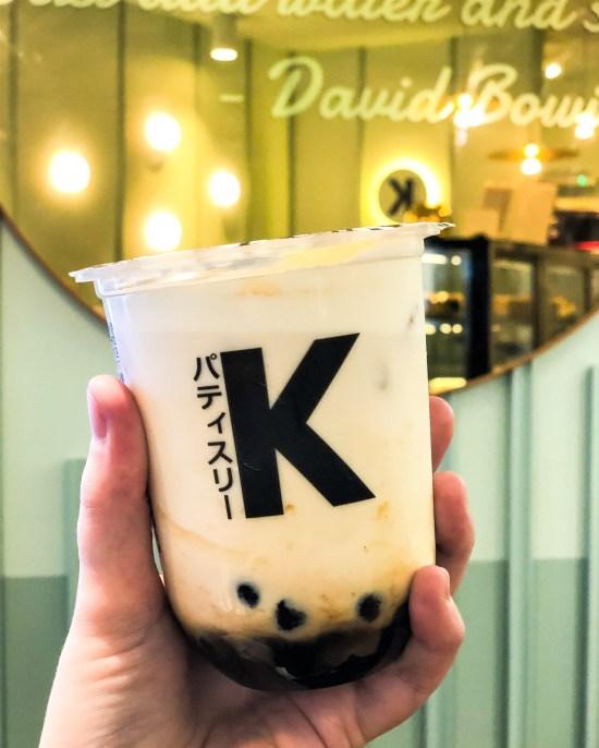 Dirty Milk Boba Tea at Kova Patisserie - www.foodnerd4life.com