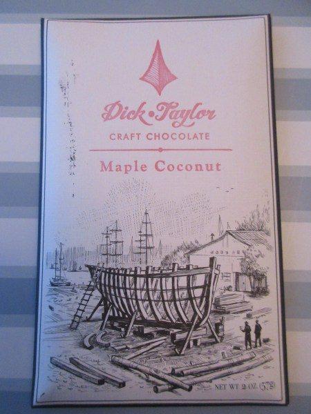 Maple Coconut 72% Belize Chocolate Bar - www.foodnerd4life.com