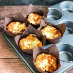 Cheddar and Marmite Muffins in Tray - www.foodnerd4life.com