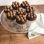 Overhead Shot of Malteaser Cupcakes - www.foodnerd4life.com