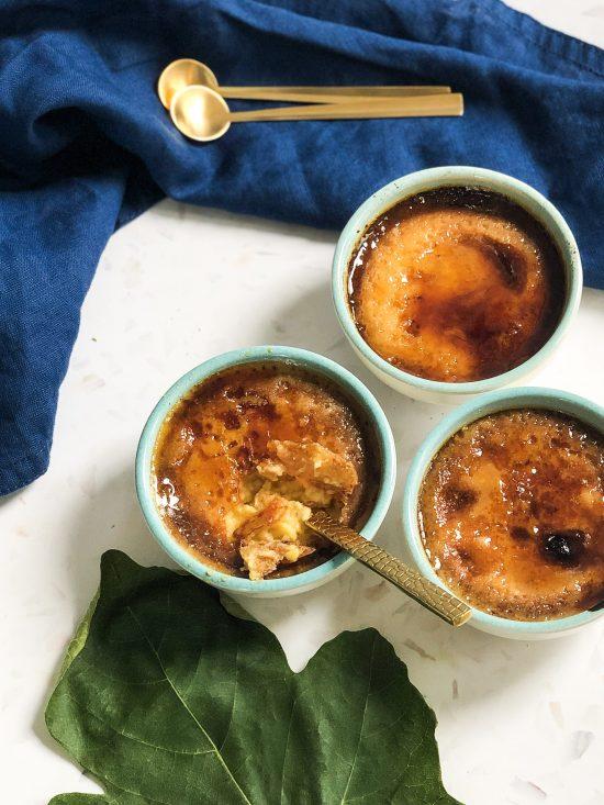Fig Leaf Creme Brulee Cracked Top - www.foodnerd4life.com