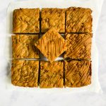 Sticky Toffee Blondies Recipe