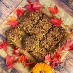 Pecan Pie Bars with Cinnamon Crust Recipe - www.foodnerd4life.com