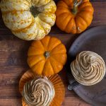 Spiced Pumpkin Cupcakes with Cinnamon Cream Cheese Frosting Recipe