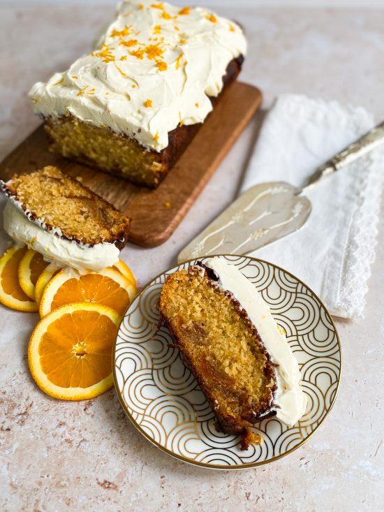 Marmalade Cake with Mascarpone Frosting - www.foodnerd4life.com