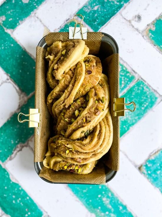 Baklava Babka Recipe - www.foodnerd4life.com