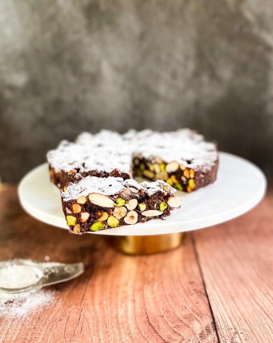 Italian Panforte Recipe - www.foodnerd4life.com