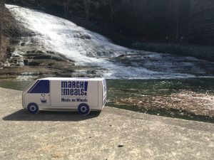 Foodnet Van at Buttermilk Falls Ithaca