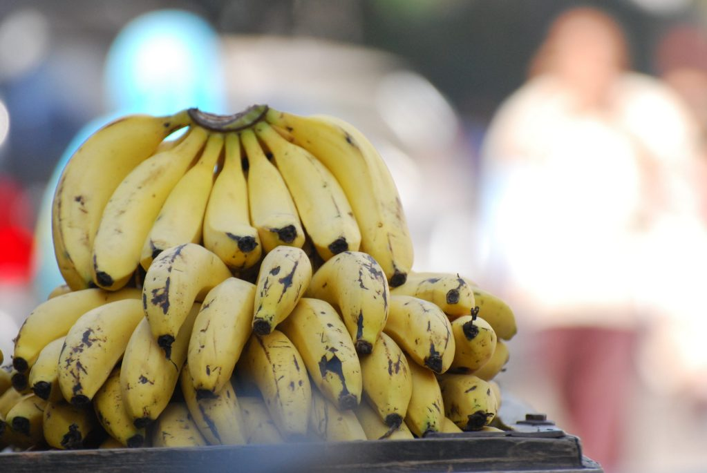 yellow banana fruit photograph