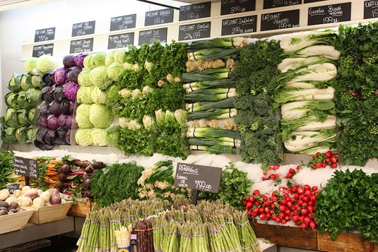 Eli's Food Market - Impressive Produce Display