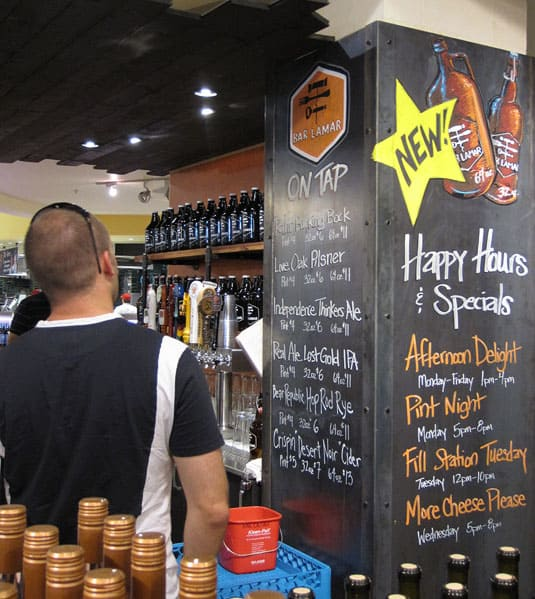 Yes, it's true! Whole Foods Market now hosts Happy Hours! Austin, Texas