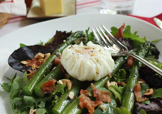 Dorie Greenspan's Bacon, Eggs, and Asparagus Salad