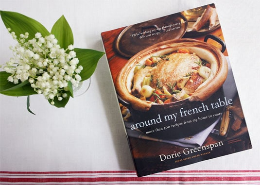 Giveaway: Win a signed copy of Dorie Greenspan's award-winning book: Around My French Table