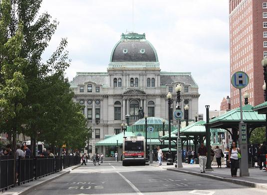 Providence's City Hall.