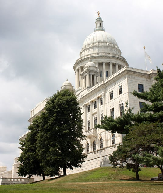 The State House in Providence, Rhode Island.
