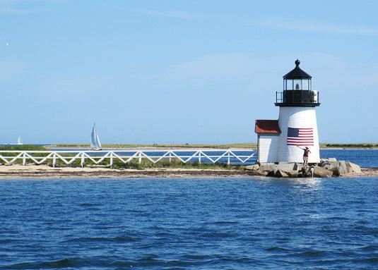 Arriving in Nantucket