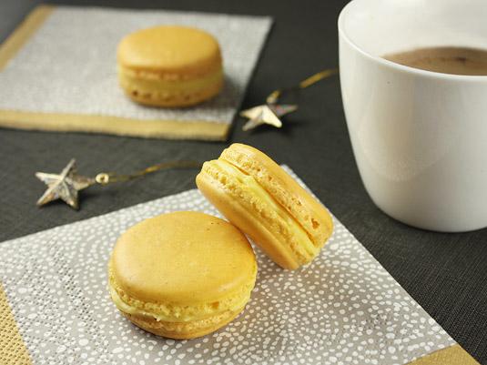 Yuzu Ginger Macarons