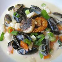 Bergen Fish Soup (Bergensk Fiskesuppe), Lindsey's favorite dish from Bergen, Norway