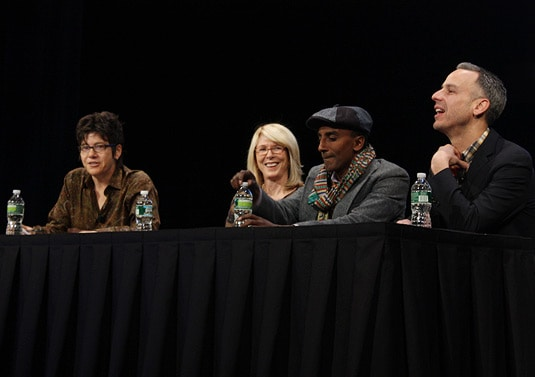 The Fashion of Food Speakers: Adam Rapoport (ed.-in-chief Bon Appetit), Chef Marcus Samuelsson, Susan Lyne (chairman, Gilt Groupe), moderated by Kim Severson (journalist, The New York Times).