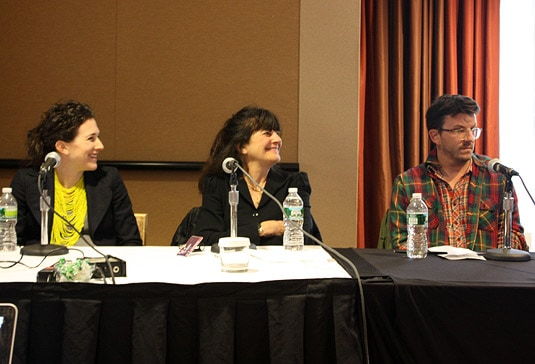 The New Frontier in Magazines: Finding a Model that Works for Readers, Writers…and at the Bank Speakers: Maile Carpenter (ed. Food Network Magazine), Peter Meehan (co-ed. Lucky Peach), Ruth Reichl (ed. advisor Gilt Taste), moderated by Mitchell David, VP James Beard Foundation.