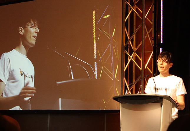 FoodCamp Québec's organizer, Francis Laplante (Tranche de Pain).