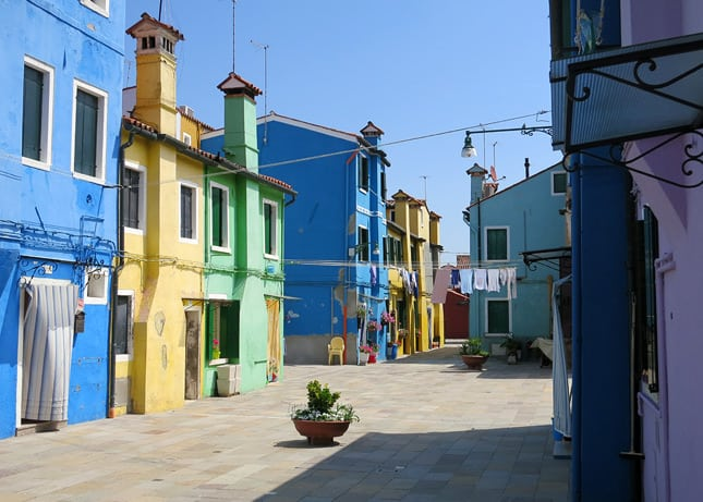 One reason to go to Venice: To hop on a ferryboat ride and end up in colorful Burano. / FoodNouveau.com