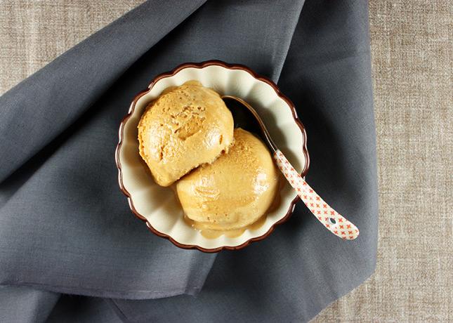 Salted Butter Caramel Ice Cream / FoodNouveau.com