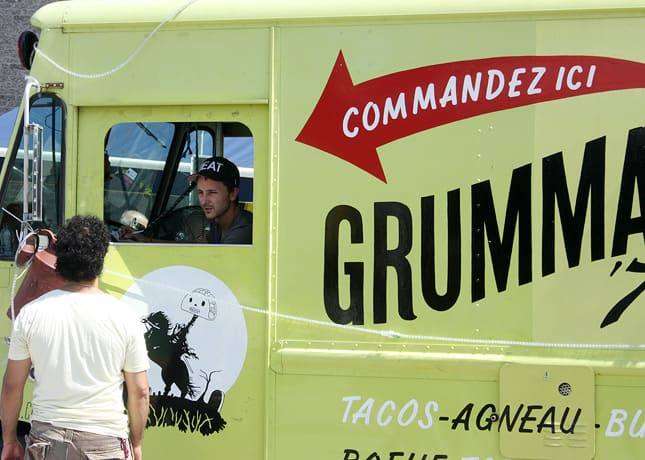 Grumann '78's iconic lime green truck serving inventive tacos in Montreal / FoodNouveau.com
