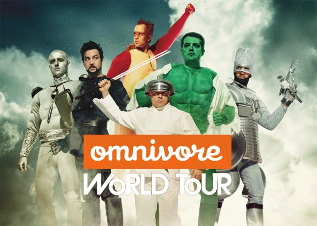 Omnivore World Tour in Montreal August 17-20