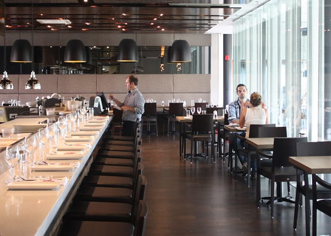 "Les Labours Restaurant at Hôtel La Ferme, a new ""destination hotel"" in Baie-St-Paul, Charlevoix, located 70 km east of Quebec City / FoodNouveau.com"